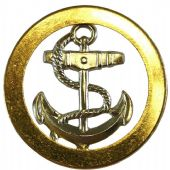 Issue Royal Navy Ratings Beret Badge